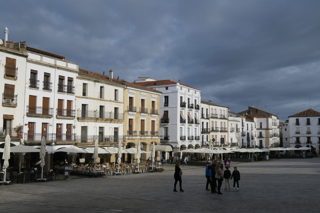 02.Plaza Mayor Cáceres