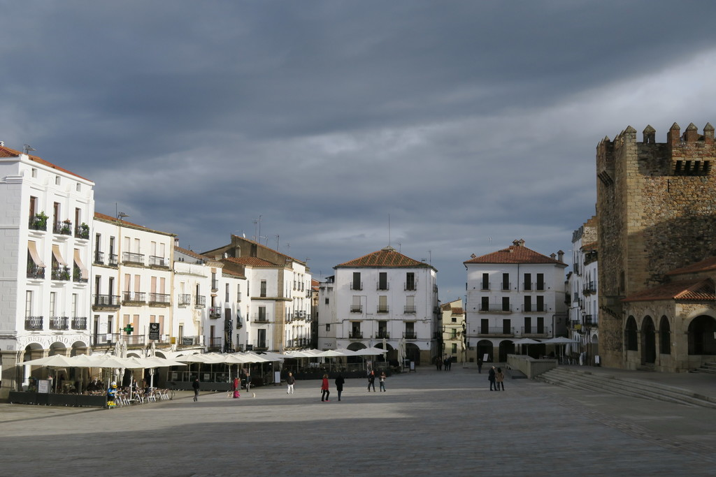 05.Plaza Mayor Cáceres