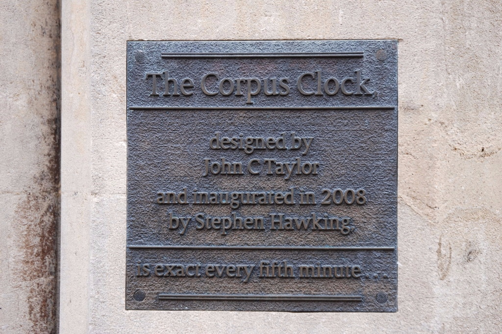 10.Corpus Clock Cambridge