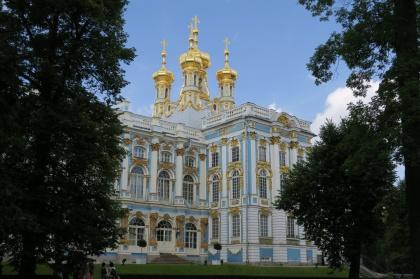 Palacio de Catalina la Grande en Pushkin