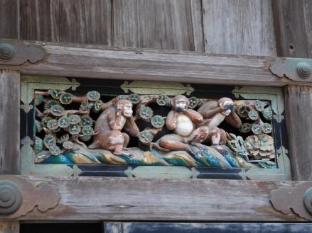 Los tres monos sabios Nikko