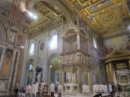 Ruta por las principales iglesias de Roma parte I