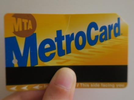 Como moverse por NY. La tarjeta transporte MetroCard