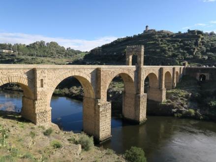 Puente romano Alcántara, Extremadura