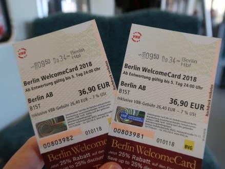 Cómo moverse por Berlin. La Berlín Welcome Card