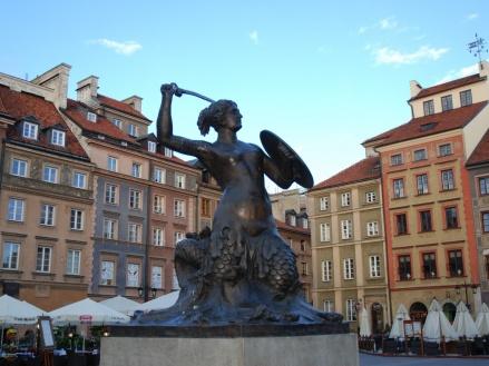 El centro histórico de Varsovia